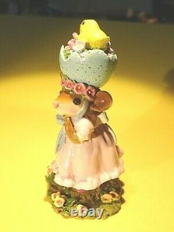 Wee Forest Folk M-478 Silly Easter Bonnet-retired 2015
