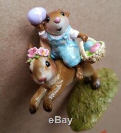 Wee Forest Folk M-479 Easter Bunny Hop Retired