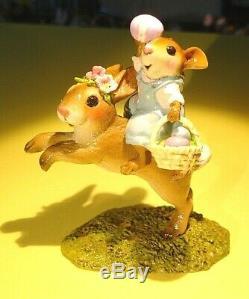 Wee Forest Folk M-479 Easter Bunny Hop-retired 2016