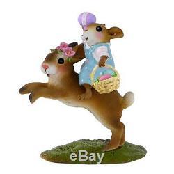 Wee Forest Folk M-479 Retired Easter Bunny Hop