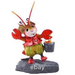 Wee Forest Folk M-491 Happy Lobster (RETIRED)