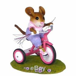 Wee Forest Folk M-526 Tiny Trike (pink) Retired