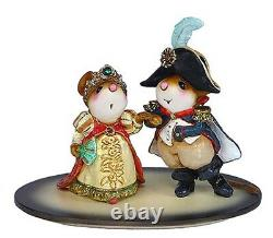 Wee Forest Folk M-529 Napoleon and Josephine (Retired)