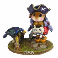 Wee Forest Folk M-532 Curious Crow (RETIRED)