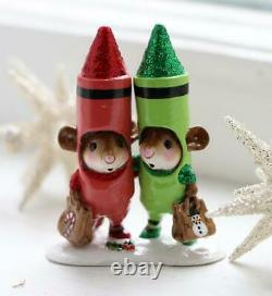 Wee Forest Folk M-533a Limited Edition Christmas Crayons