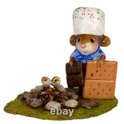 Wee Forest Folk M-537a S'more Patriotism (RETIRED)