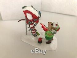 Wee Forest Folk M-550a NORTH POLE ELVES Retired, BRAND NEW