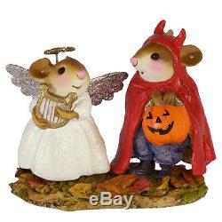 Wee Forest Folk M-587 SWEET AND SPICY TWOSOME HAND MADE, RETIRED