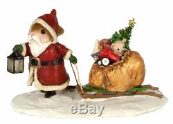 Wee Forest Folk M-628 Ole' St. Nick (RETIRED)