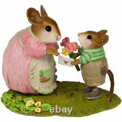 Wee Forest Folk M-636b To Mom with Love (Boy) Retired
