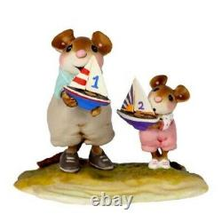 Wee Forest Folk M-636c Ship Mates Girl (RETIRED)
