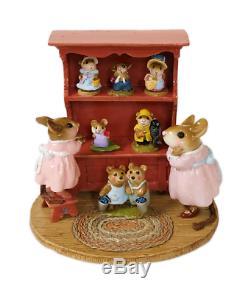 Wee Forest Folk M-674 Annette's Birthday Curio Cabinet #01 (RETIRED)