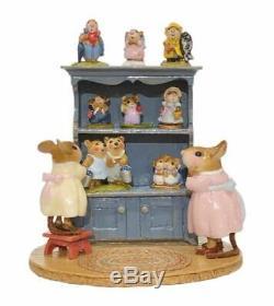 Wee Forest Folk M-674 Annette's Birthday Curio Cabinet #03 (RETIRED)