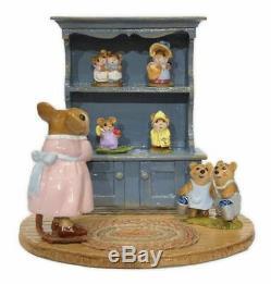 Wee Forest Folk M-674 Annette's Birthday Curio Cabinet #06 (RETIRED)