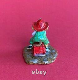 Wee Forest Folk MP-4 Fire Mouse With Fire Engine Retired MINT