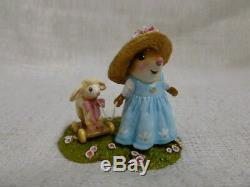 Wee Forest Folk Mary's Little Lamb Easter Edition M-445b Retired