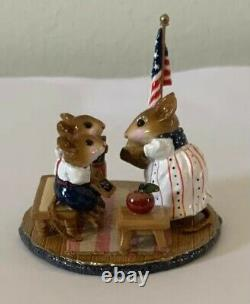 Wee Forest Folk Mice Country Classroom 321 Limited Edition Retired (2005)