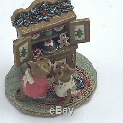 Wee Forest Folk Miniature Figurine Christmas Cupboard M 241 Retired
