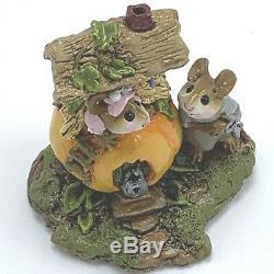 Wee Forest Folk Miniature Figurine Peter Pumpkin Eater M 190! 993 Retired