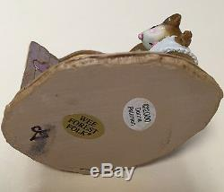 Wee Forest Folk Molly's Choice Closet Wardrobe Mice 2006 Retired M-257 Nwob