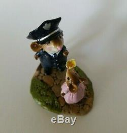 Wee Forest Folk My Hero M-525 Police Officer 2015 Retired