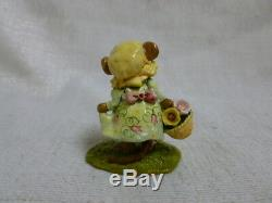 Wee Forest Folk My Little Yellow Basket Easter Edition M-346a Retired
