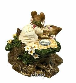 Wee Forest Folk Picnic On The Riverbank Special Edition FS-6 Retired With Box