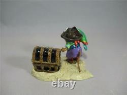 Wee Forest Folk Pirate's Treasure Retired Halloween WFF