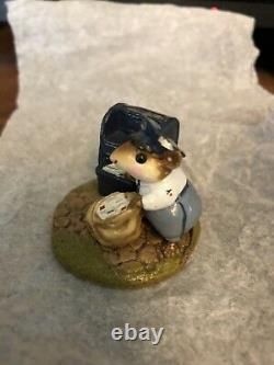 Wee Forest Folk Postmouster 1984 Retired, Rare, LTD 1, CHIPPED, Peterson