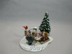 Wee Forest Folk Puppy Love Made for Short Time Retired New In WFF Box