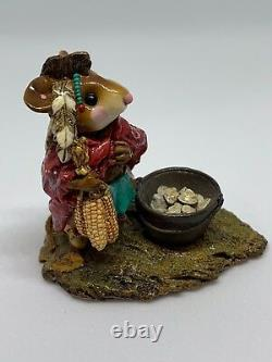Wee Forest Folk Retired Chief Mouse-Asoit