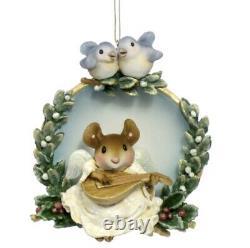 Wee Forest Folk Retired Christmas Angel Ornament