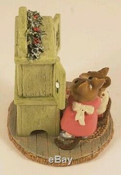 Wee Forest Folk Retired Christmas Cupboard 1999 M241