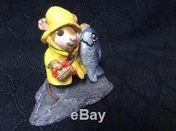 Wee Forest Folk Retired Fisher Mouse