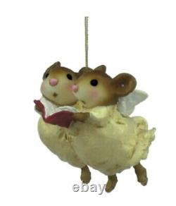 Wee Forest Folk Retired Heavenly Harmony Ornament