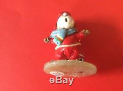 Wee Forest Folk Retired Ice Skater Mouse MS-08