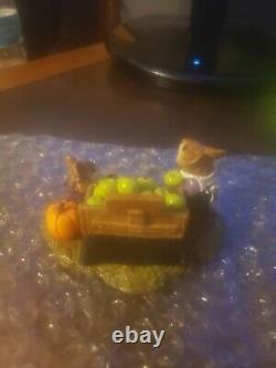 Wee Forest Folk Retired LTD Halloween Adam's Apple