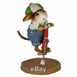 Wee Forest Folk Retired M-397a Pogo Pal