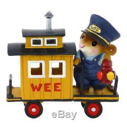 Wee Forest Folk Retired Miniature Figurine M-453e Caboose