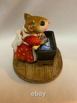 Wee Forest Folk Retired Mrs Tidy Only Made for One Year