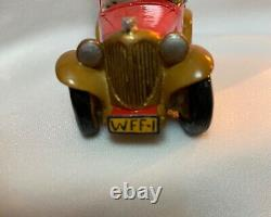 Wee Forest Folk Retired RARE GOLD GRILL Red Sunday Drivers