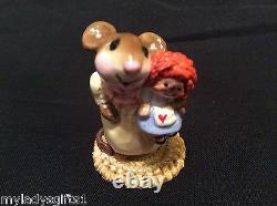 Wee Forest Folk Retired Raggedy And Mouse