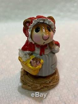 Wee Forest Folk Retired Red Riding Hood