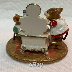 Wee Forest Folk Retired Special Color Christmas Stove