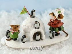 Wee Forest Folk Retired Special Color Expo 2013 Penguin Palace