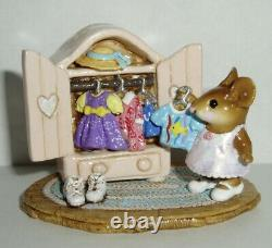 Wee Forest Folk Retired Special Color Mollys Closet