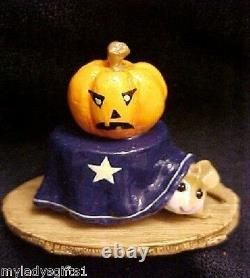 Wee Forest Folk Retired Special Color Navy Halloween Table