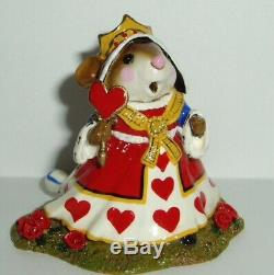 Wee Forest Folk Retired Special LTD Queen of Hearts From Alice In Wonderland