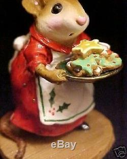 Wee Forest Folk Retired Sugar & Spice Christmas Red