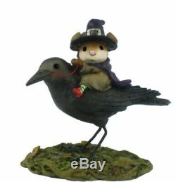Wee Forest Folk Retired The Raven Red-Eye